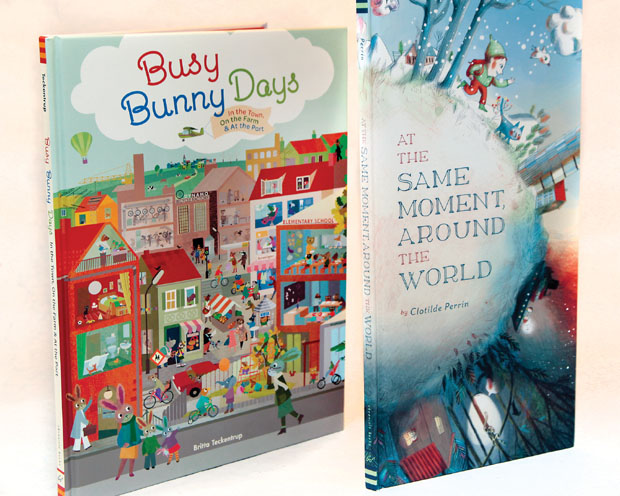 Books: Daddy Wrong Legs, Busy Bunny Days
