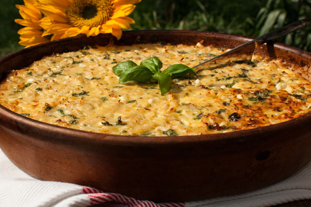 Crab Corn Quiche Recipe